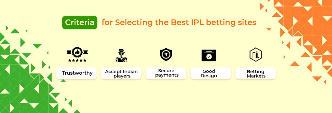 our criteria to choose best sites