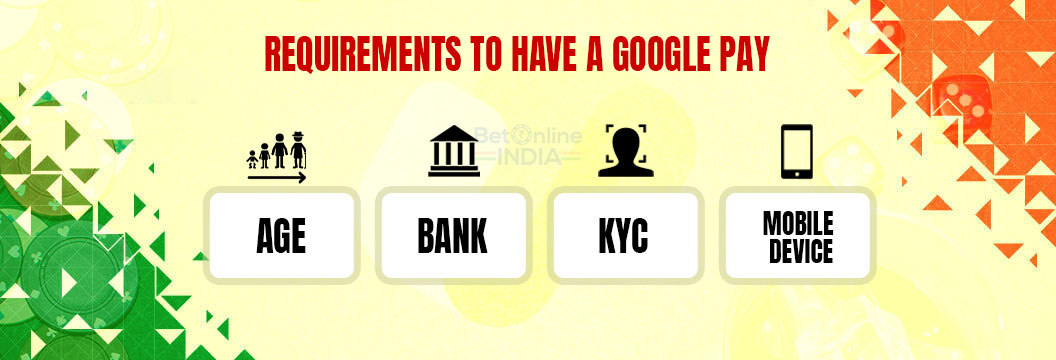 google pay requirements