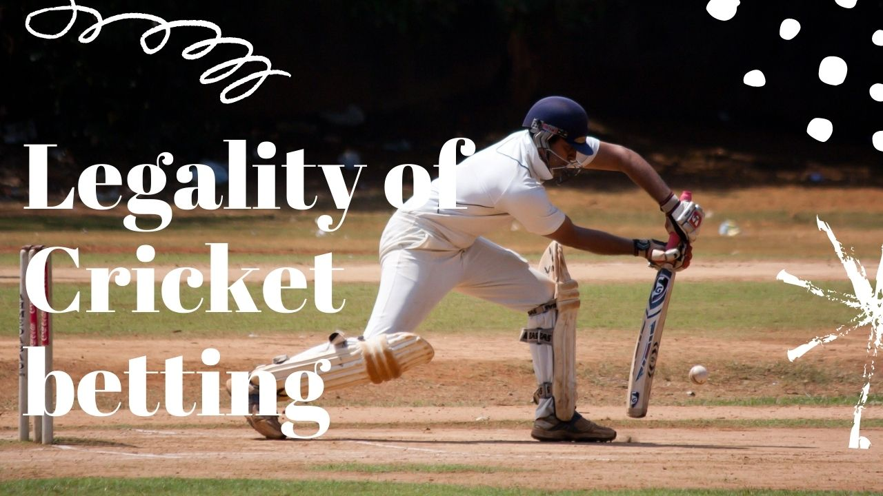 legality of cricket betting