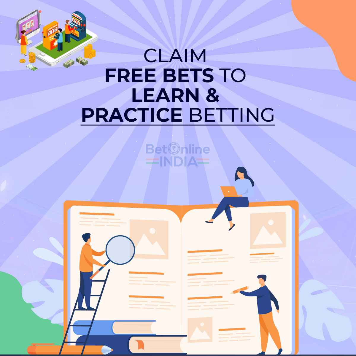claim free bets to practice