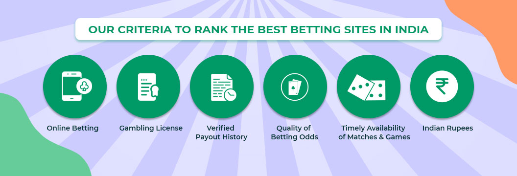 ranking criteria for betting sites