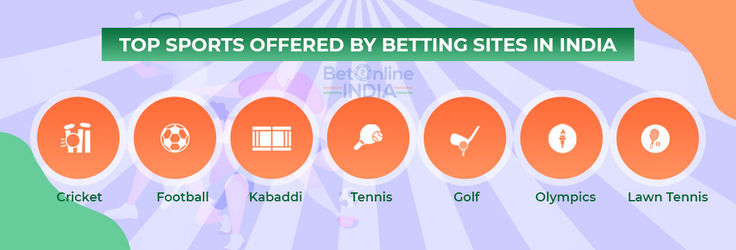 top sports for betting in india
